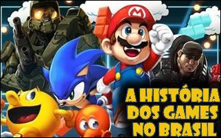 A história dos games no Brasil